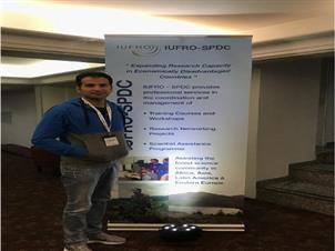 گزارش سفر دکتر مهرداد زرافشار در کنگره جهانی IUFRO در سال ۲۰۱۹ در کشور برزیل شهر کوریتیبا