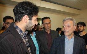 بازدید رئیس دانشگاه تهران از خوابگاه دانشجویی حافظ
