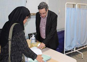 به منظور تایید ادامه پذیرش دستیار جراحی؛ هیات بورد جراحی وزارت بهداشت از مرکز آموزشی درمانی شهدای خلیجفارس بوشهر بازدید کرد