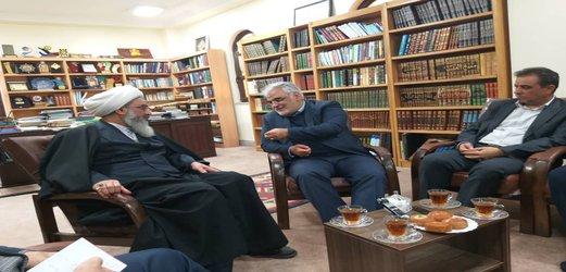 دیدار دکتر طهرانچی با نماینده ولیفقیه در استان و امامجمعه بوشهر