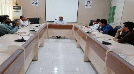 برگزاری اولین  جلسه شورای پژوهشی مرکز تحقیقات وآموزش کشاورزی ومنابع طبیعی بلوچستان در سال ۱۳۹۹