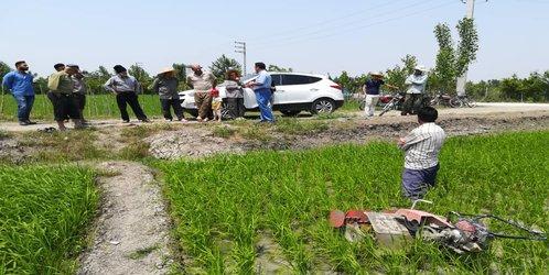 کارگاه آموزشی ترویجی وجین مکانیزه برنج در شرایط شیوع ویروس کرونا با حضور مدرس مرکز هراز در شهرستان ساری برگزار شد