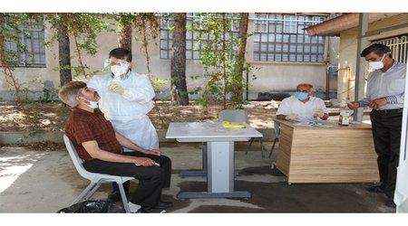 انجام تست  PCR( تشخیص کرونا) در دانشگاه اصفهان