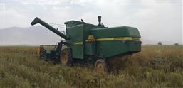 عملیات برداشت بذر چغندر علوفه ای در سایت ملی اصلاح، تولید و تکثیر چغندر علوفه ای پردیس تحقیقات کشاورزی بروجرد انجام شد