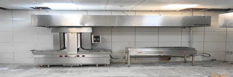 اجرای فاز دوم صنعتی سازی آشپزخانه دانشگاه با مشارکت صندوق رفاه دانشجویان وزارت عتف