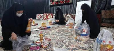 پویش رمضانی دانشجویان دانشگاه آزاد اسلامی بندرگز در کمک به نیازمندان