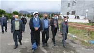 بازدید مشاورعالی رئیس دانشگاه آزاد اسلامی استان مازندران از واحد رامسر