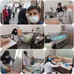 در مجموعه مهارتهای بالینی دانشگاه آزاد اسلامی شاهرود آزمون صلاحیت بالینی پزشکان  برگزار شد