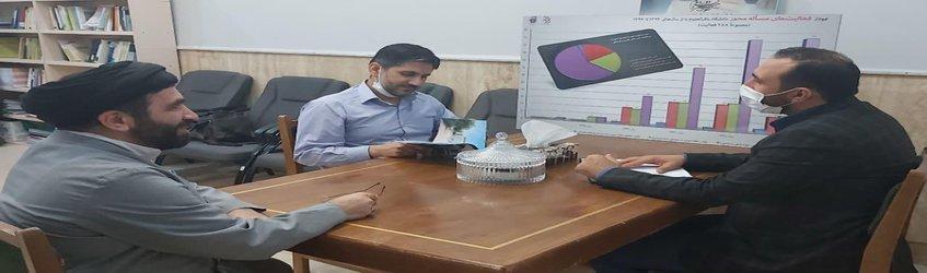 بررسی زمینههای همکاری دانشگاه باقرالعلوم (ع) با مراکز علمی و دانشگاهی سوریه