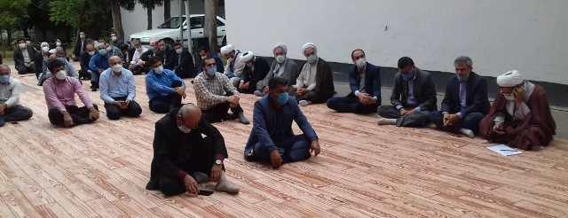 حضور رئیس مرکزتحقیقات و آموزش گلستان در مراسم بزرگداشت دهه کرامت و هفته جهاد کشاورزی