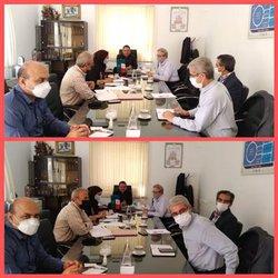 دومین جلسه کمیته سرمایهانسانی سازمان جهاد کشاورزی استان فارس