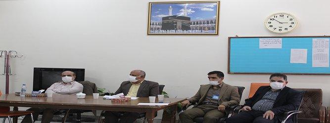 بازدید تیم ارزشیاب وزارت بهداشت،درمان وآموزش پزشکی ازدانشگاه آزاداسلامی علوم پزشکی قم