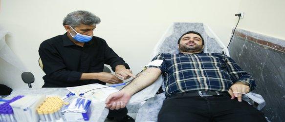 اجرای طرح اهدای خون در واحد الکترونیکی