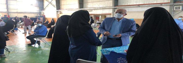 فعالیت مراکز واکسیناسیون دانشگاه علوم پزشکی شهید بهشتی  در روزهای تعطیل