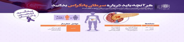 سرطان پانکراس هفتمین سرطان کشنده در ایران