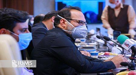بستری بیش از هشت هزار بیمار کرونایی در تهران
