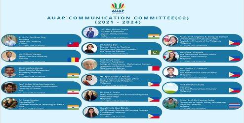 اولین نشست کمیته «ارتباطات» اتحادیه دانشگاههای آسیا و اقیانوسیه (AUAP) برگزار شد