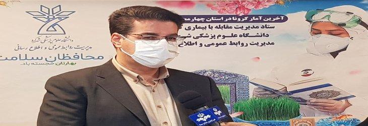 روند شیوع بیماری کرونا در چهارمحال و بختیاری همچنان رو به افزایش است/ روزانه حدود ۲۰ بیمار به مجموع بیماران بستری بیمارستان های استان افزوده می شود
