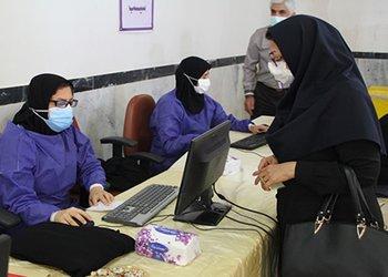 چهارمین مرکز تجمیعی واکسیناسیون عمومی حامیان سلامت در شهر برازجان راهاندازی شد