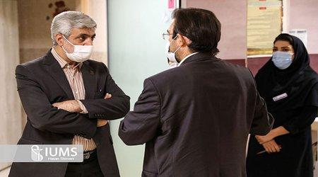 بازدید سرپرست دانشگاه علوم پزشکی ایران از بیمارستان یافت آباد