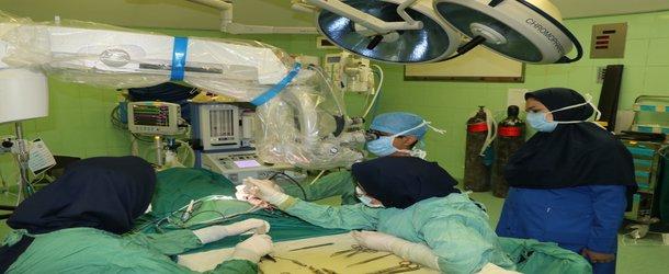 ششمین عمل جراحی کاشت حلزون شنوایی در دانشگاه علوم پزشکی بابل
