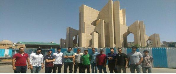 برگزاری اردوی تفریحی دانشجویان ممتاز آموزشی دانشگاه صنعتی کرمانشاه به تبریز، سرعین و اردبیل