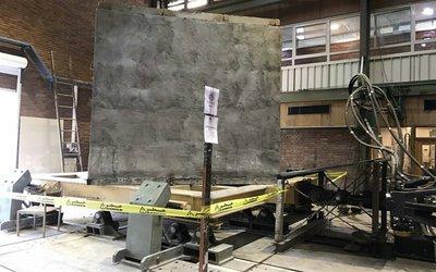 آزمایش میز لرزان بر روی نمونه مقاومسازی شده ایستگاه تقلیل فشار گاز با استفاده از روشهای نوین مقاومسازی