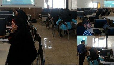 کلاس آموزش کامپیوتر در موسسه غیرانتفاعی شاهرود