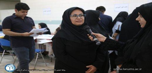 مصاحبه با دکتر زهرا کشتکاران، معاون آموزشی، تحقیقات و فرهنگی دانشجویی در آغاز سال تحصیلی جدید
