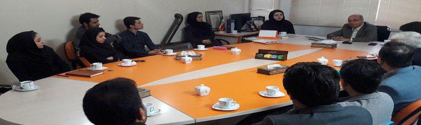 برگزاری جلسه ریاست علوم پزشکی وارستگان با اعضای هیات علمی