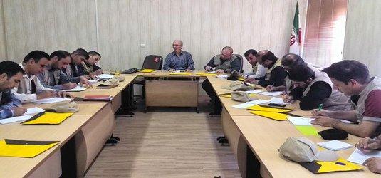 برگزاری دوره آموزشی کارشناسان پهنه سازمان جهاد کشاورزی استان قم در مرکز کبوتر آباد اصفهان
