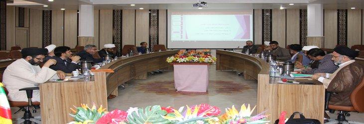 اولین نشست کارگروه ارتقای کیفی آموزش دانشگاه برگزار شد