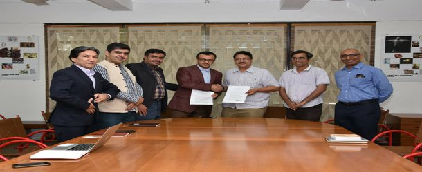 Signing off the Memorandum of Understanding(MoU)