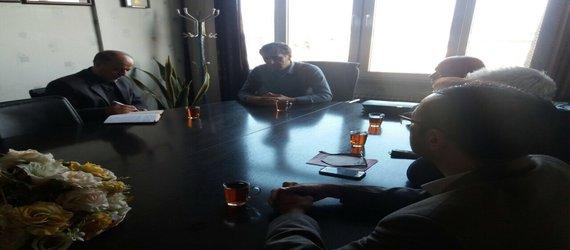 برگزاری جلسه مهندس عمادی مدیر حراست سازمان تحقیقات، آموزش و ترویج کشاورزی با رئیس و معاونین مرکز تحقیقات و آموزش کشاورزی و منابع طبیعی استان قزوین
