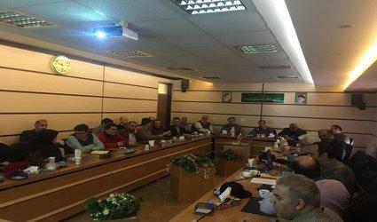برگزاری جلسه هماهنگی حوزه پژوهش و فناوری مرکز تحقیقات و آموزش کشاورزی و منابع طبیعی استان قزوین