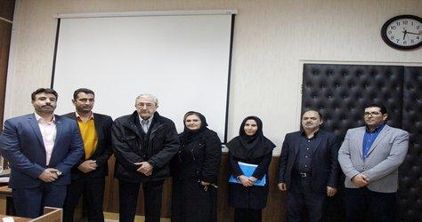 اولین دانشجوی دکترای رشته مدیریت دولتی واحد تهران شمال از پایان نامه خود دفاع کرد