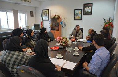 نشست صمیمی ریاست محترم دانشگاه با دبیران کانون های دانشجویی واحد