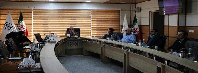 نشست اعضای فراهم آوری اعضای پیوندی دانشگاه علوم پزشکی استان سمنان با رئیس دانشگاه