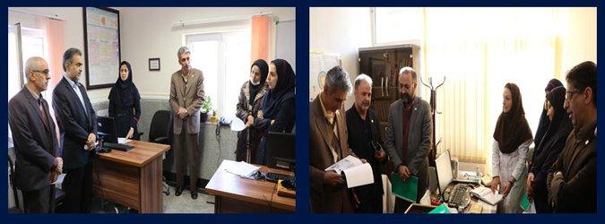 نظارت عالیه از مرکز خدمات جامع سلامت شهید مطلبی و پایگاه سلامت تدبیر صورت پذیرفت