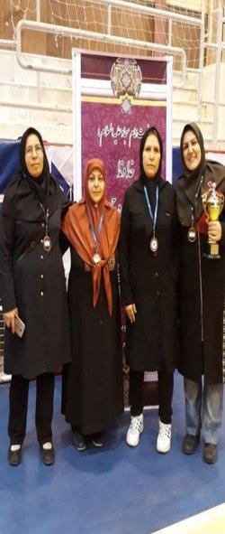کسب مقام سوم تیم تنیس روی میز واحد تهران مرکزی در مسابقات استان تهران