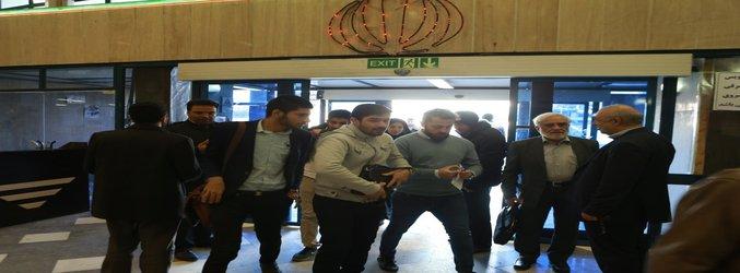 اولین روز امتحانات ترم جاری در مجتمع ولایت دانشگاه آزاد اسلامی واحد تهران مرکزی