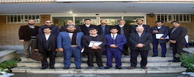 بازدید معاون آب وزارت انرژی افغانستان از موسسه تحقیقات آب