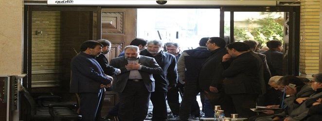 حضور نمایندگان دانشگاه آزاد اسلامی در مجلس ترحیم فضیلتینیا