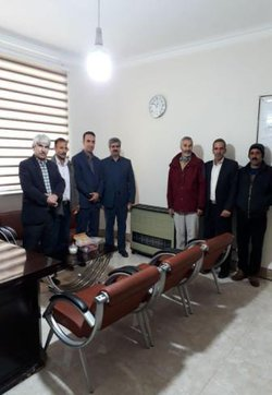 افتتاح گاز رسانی ایستگاه تحقیقاتی مهرگان باحضور مسئولین مرکز تحقیقات و آموزش کشاورزی و منابع طبیعی کرمانشاه