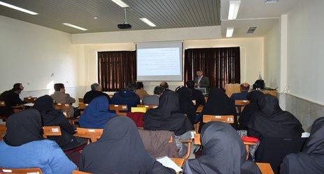 برگزاری دوره آموزش مدیریت تلفیقی مبارزه با آفات و بیماریهای گیاهی (  IP M) درمرکز دامغان