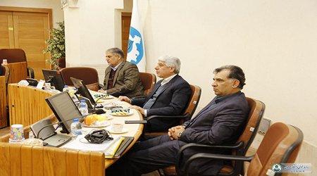جلسه مشترک دانشگاه اصفهان با مدیران شرکت فولاد کویر