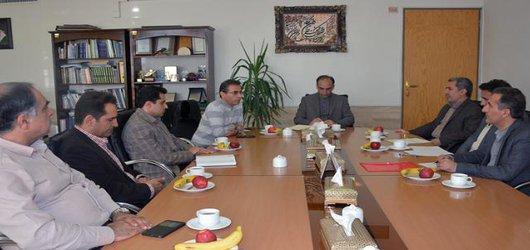 بازدید هیات مدیره شرکت توزیع استان کهکیلویه و بویر احمد از دانشگاه صنعتی شیراز