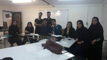 برگزاری کارگاه گرافیک و شیت بندی مخصوص دانشجویان شهرسازی