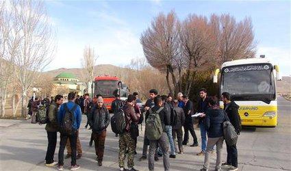 بازدید بیش از ۸۰ دانشجوی بسیجی دانشگاه آزاد اسلامی شهرکرد از مناطق عملیاتی ۸ سال دفاع مقدس