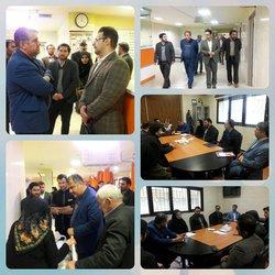 بازدید سرزده رئیس گروه بازرسی استان همدان از بیمارستان حضرت قائم(عج) اسدآباد